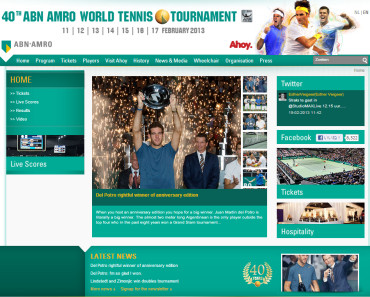 ABNアムロ世界テニストーナメント2013