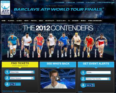 ATPワールドツアーファイナル2012