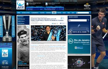 ATPワールドツアーファイナル2012、ジョコビッチ優勝