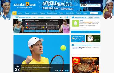 オーストラリアン・オープン2011
