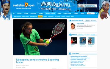 Australian Open 2011 Dolgopolov