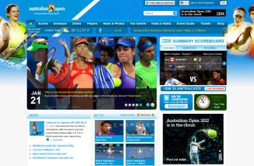 全豪オープン2012 公式サイト