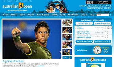 全豪オープン2009、準決勝