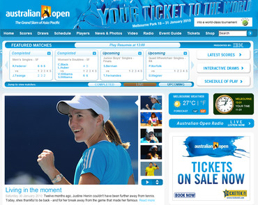 全豪オープン2010 公式サイト