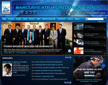 Barclays ATP World Tour Finals 2010