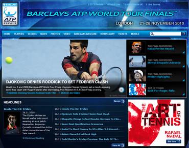 ATPワールドツアーファイナルズ2010