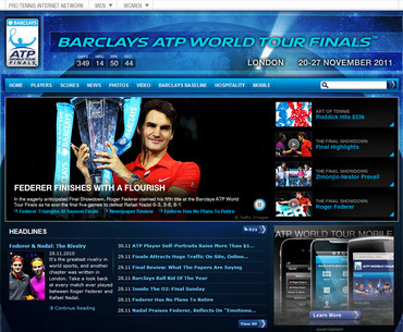 ATPツアー最終戦2010