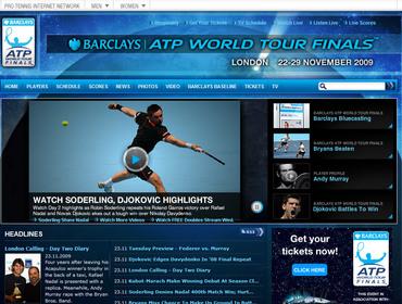 バークレイズ・ATPワールドツアー・ファイナルズ 2009