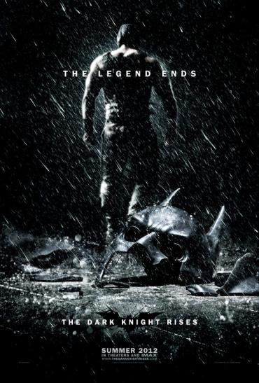 The Dark Knight Rises(ダークナイト ライジング)ポスター