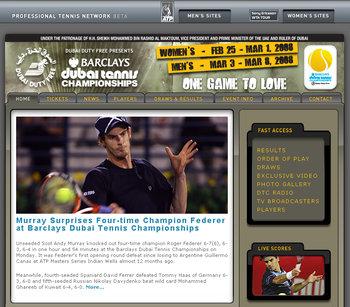 ドバイテニスチャンピオンシップス2008