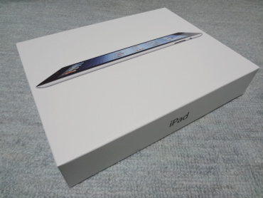 iPad(Early 2012)の箱