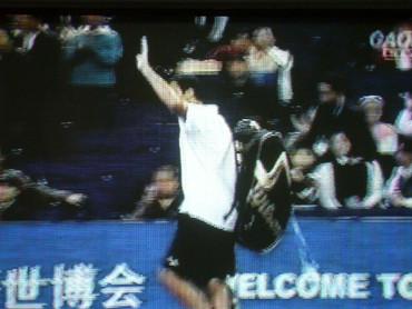 マスターズカップ2008、ツォンガ敗退も大声援