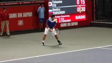 楽天・ジャパン・オープン2012 伊藤