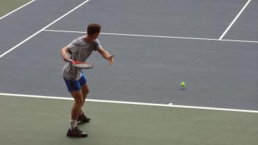 楽天・ジャパン・オープン2012 マレーの練習2
