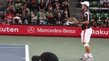 楽天・ジャパン・オープン2012 錦織