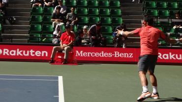 楽天・ジャパン・オープン2012 ティプサレビッチ