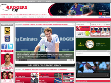 トロント・マスターズ1000 Rogers Cup 2010
