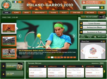 全仏オープン(Roland Garros)2010