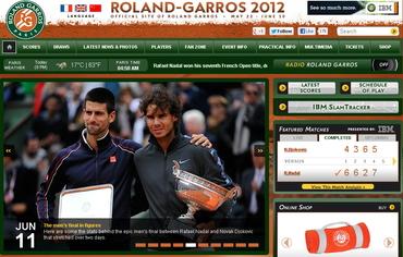 全仏オープン(Roland Garros)2012、ナダル優勝
