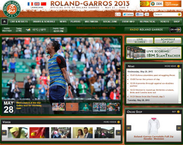 ローランギャロス(全仏オープン)2013