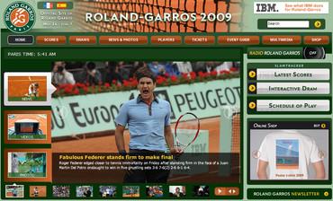 ローランギャロス2009、フェデラー決勝進出