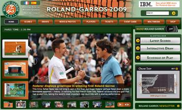 ローランギャロス2009、フェデラー初制覇