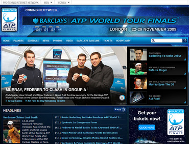 Barclays ATP World Tour Finals 2009