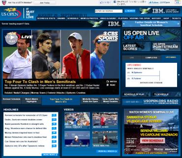 USオープン2011 準決勝