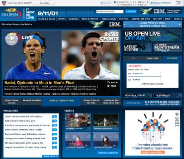 USオープン2011決勝戦