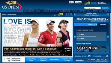 USオープン2012 公式サイト