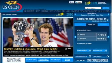 USオープン2012、マレー優勝、GS初制覇