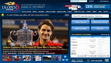 USオープン2008、フェデラー5連覇