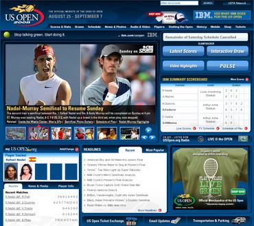 USオープン2008、ナダル対マレー