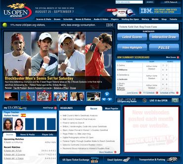 全米オープン2008準決勝