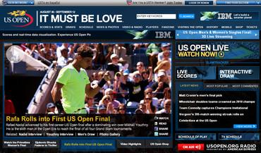 USオープン2010、決勝戦