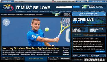 USオープン2010、準決勝