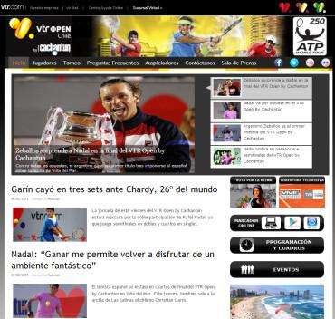 チリのVTRオープン2013、ナダル準優勝