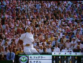 ウィンブルドン2007決勝3