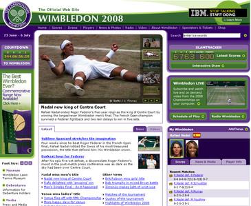 ウィンブルドン2008閉幕