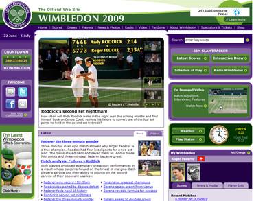 ウィンブルドン2009、決勝