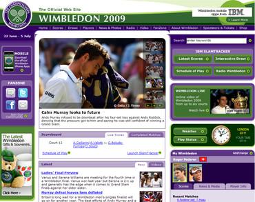 ウィンブルドン2009準決勝、マレー敗退