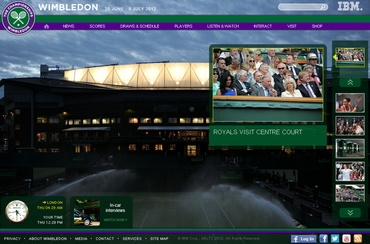 ウィンブルドン2012 公式サイトb