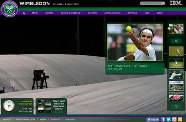 ウィンブルドン2012 公式サイト